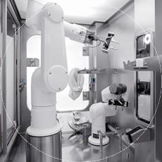 Système de préparation aseptique – Steriline Robotics