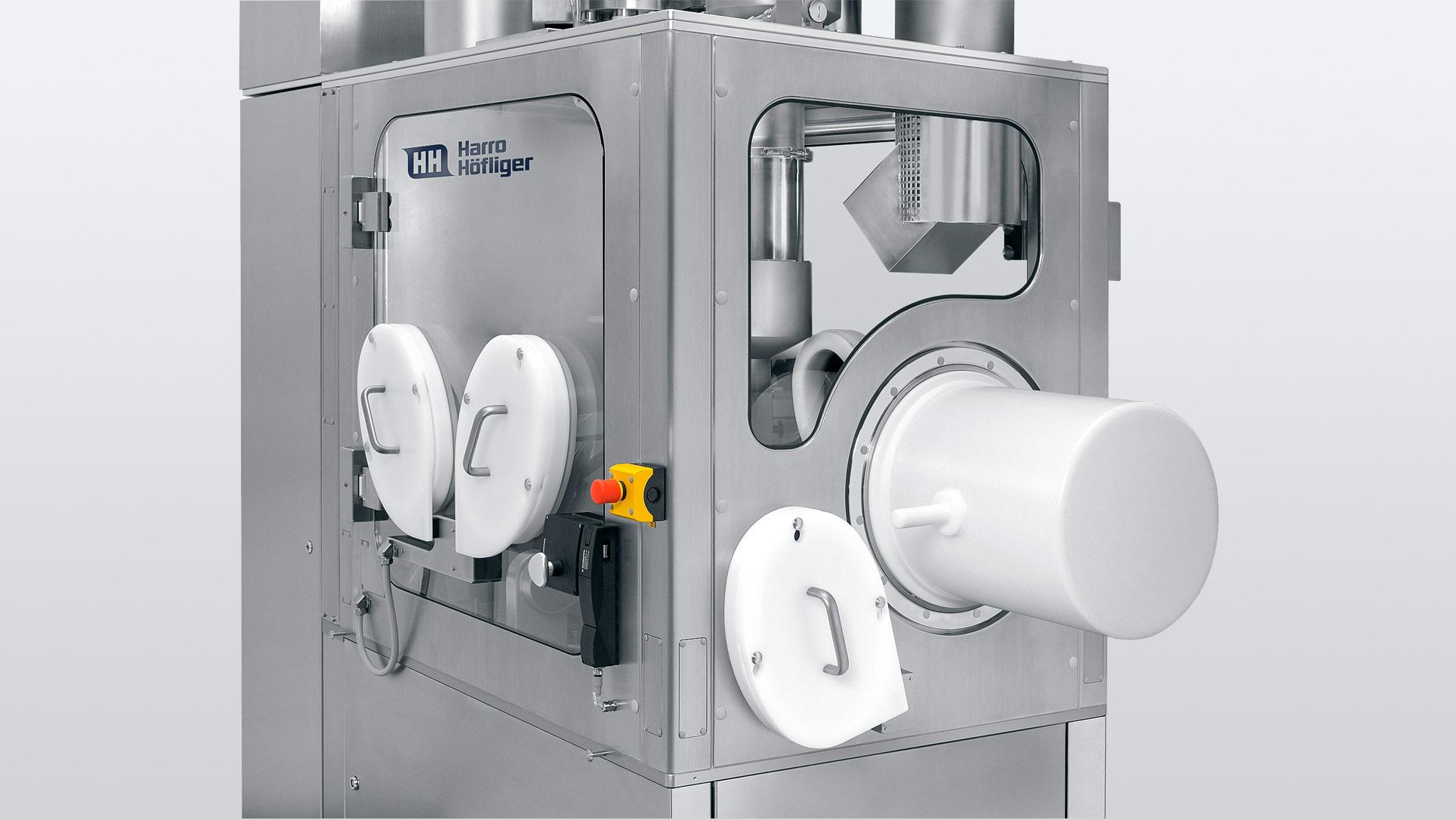 Kapselfuellmaschinen-Modu-C-LS-Containment-Eingriffe