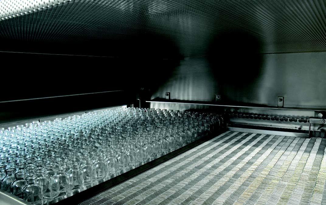 tunnel de dépyrogénation a